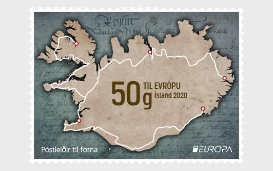 Europa 2020 – Ancient Postal Routes - To Europe - Set