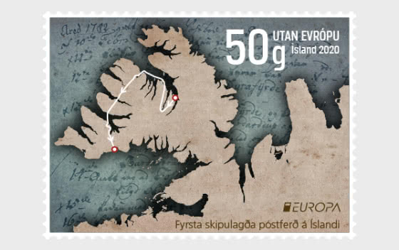 Europa 2020 - Anciennes Routes Postales - Séries