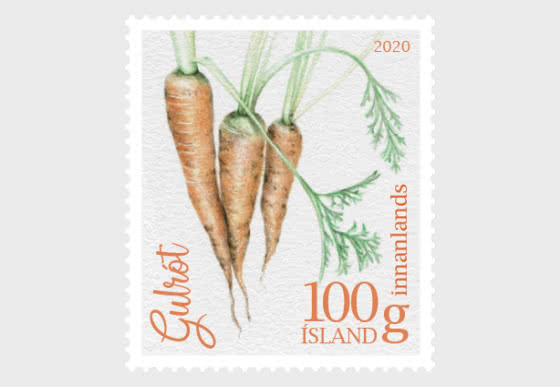 Icelandic Garden Vegetables I - Carrot - Set