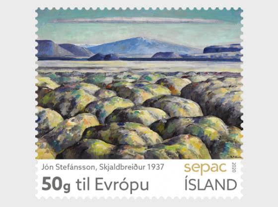 SEPAC 2020 – Artwork  from the National Gallery of Iceland - Jón Stefánsson – Skjaldbreiður 1937 - Series