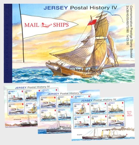 BOOKLET Jersey Postal History IV - Stamp Booklet