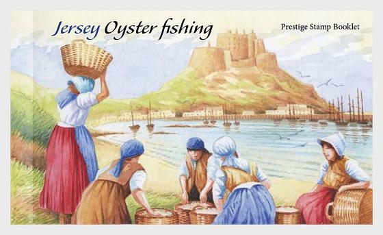 Jersey Oyster Fishing- (Prestige Booklet) - Stamp Booklet