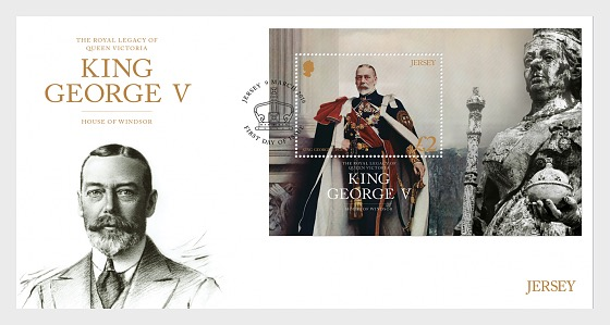 The Royal Legacy of Queen Victoria – King George V (FDC-MS) - First Day Cover