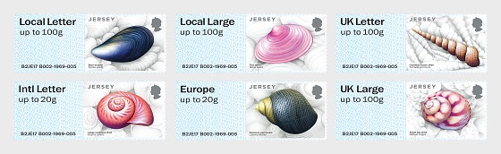 Post & Go - Shells - Set