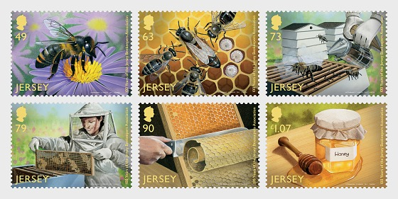 100 Years of the Jersey Beekeepers Association - Set