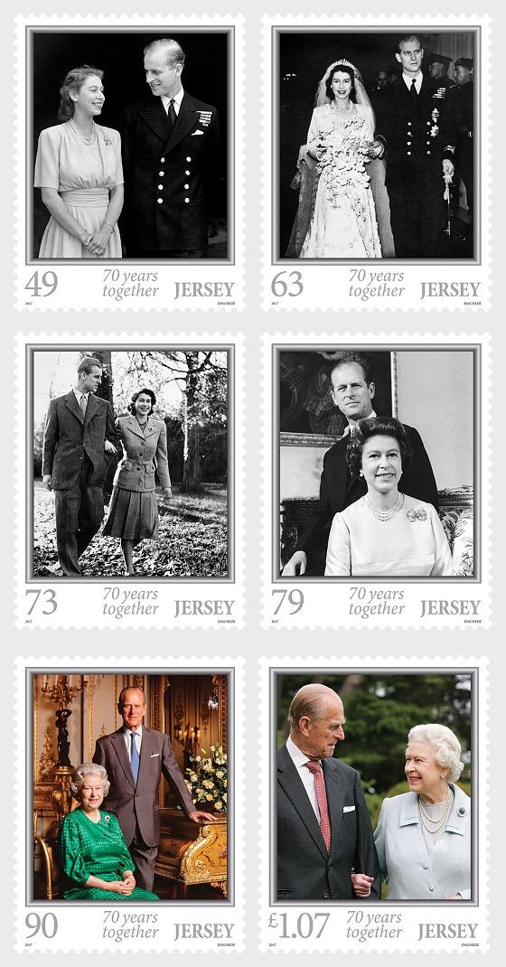 HM Queen Elizabeth II and HRH Prince Philip's Platinum Wedding Anniversary - Set