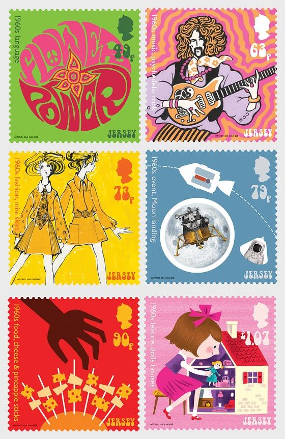 大众文化 - 二十世纪六十年代 - 套票