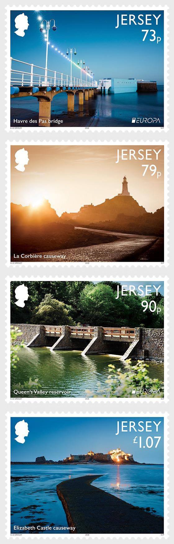 Europa 2018 - Jersey Bridges & Causeways - Set