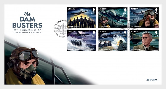 The Dam Busters - 75th Anniversary of Operation Chastise - (FDC Set) - First Day Cover
