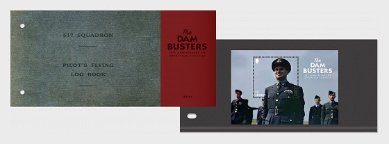 The Dam Busters - 75th Anniversary of Operation Chastise - (PP M/S) - Presentation Pack