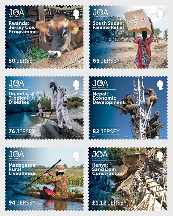 50 Years of Jersey Overseas Aid - Set