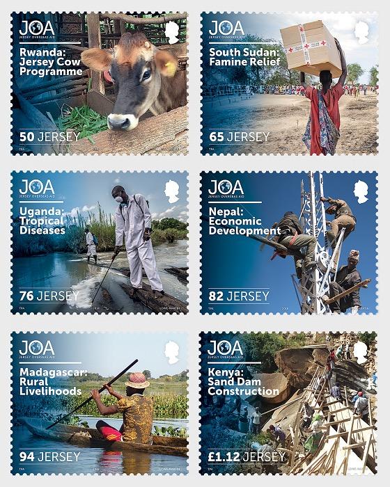50 Anni di Aiuti d'oltremare Jersey - Serie