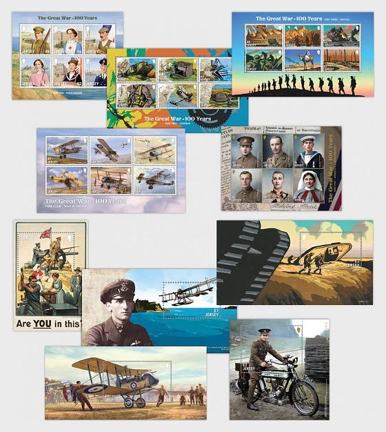 La Gran Guerra - 100 Años - la serie completa - Coleccionable