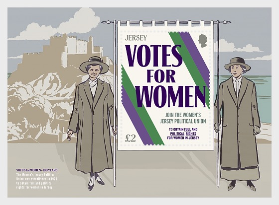 Votes for Women – 100 Years - Miniature Sheet