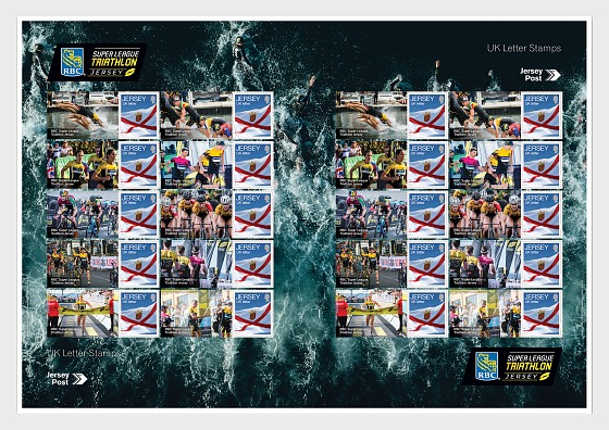 RBC Super League Triathlon - Commemorative Sheet - Full sheets