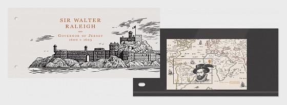 Sir Walter Raleigh, Governatore di Jersey 1600-1603 - Presentation Pack