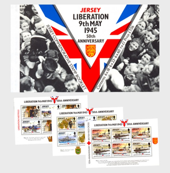 BOOKLET: Liberation 50th Anniversary - Stamp Booklet