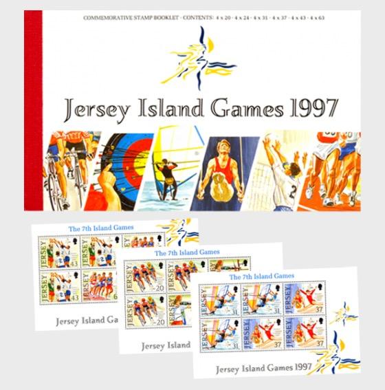 BOOKLET Island Games - Stamp Booklet