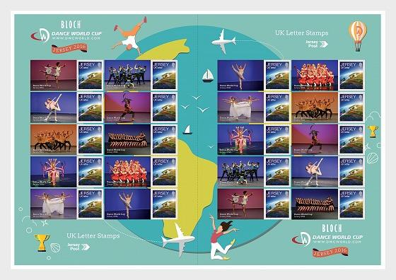 Bloch Dance World Cup - Commemorative Sheet - Full sheets
