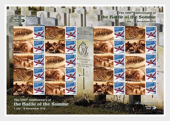 El Centenario de la Batalla del Somme - Folios enteros