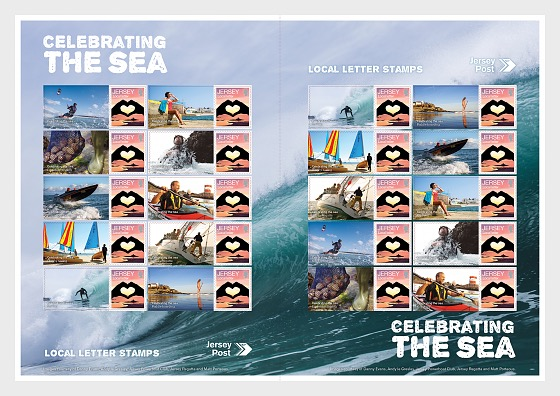 Celebrating the Sea - Commemorative Sheet - Full sheets