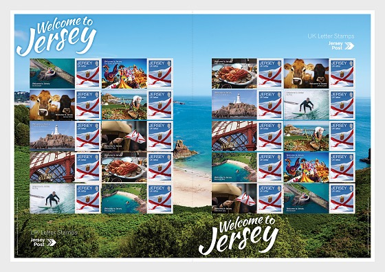 Welcome to Jersey - Commemorative Sheet - Full sheets