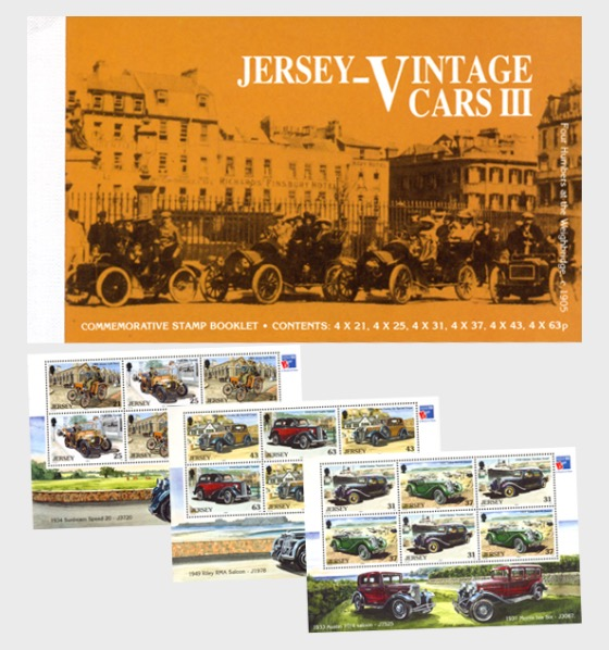 BOOKLET Vintage Cars III - Stamp Booklet