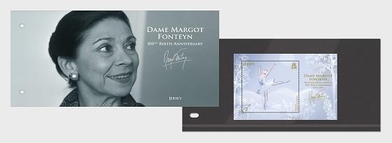 Dame Margot Fonteyn - 100 ° Anniversario della Nascita - Presentation Pack
