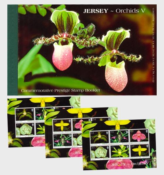 BOOKLET Orchids V - Stamp Booklet