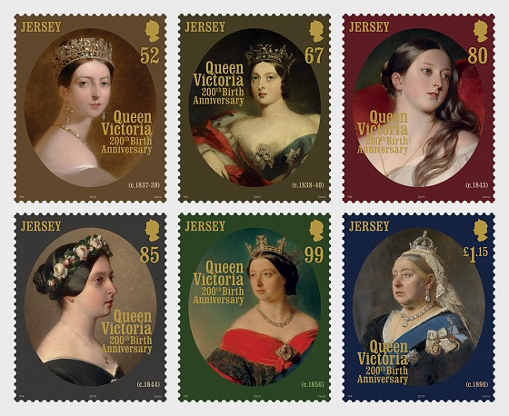 Queen Victoria 200th Birth Anniversary - Set