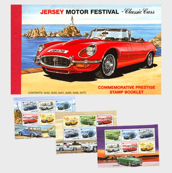 BOOKLET Classic Cars - Stamp Booklet