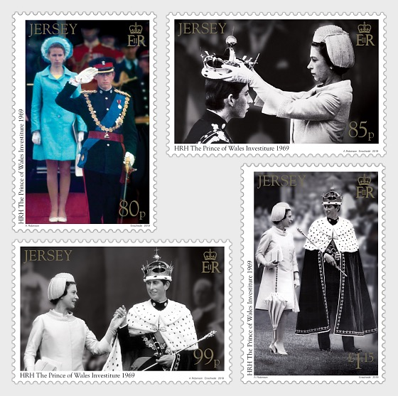 The Investiture of HRH The Prince of Wales 1st July 1969 50th Anniversary - Set