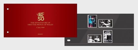 La Investidura de SAR el Príncipe de Gales, 1 de Julio de 1969, 50 Aniversario - Pack de Presentación