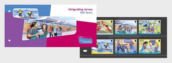 Guida Ragazza in Jersey 100 Anni - Presentation Pack