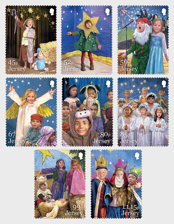 A Children's Nativity Play - Set