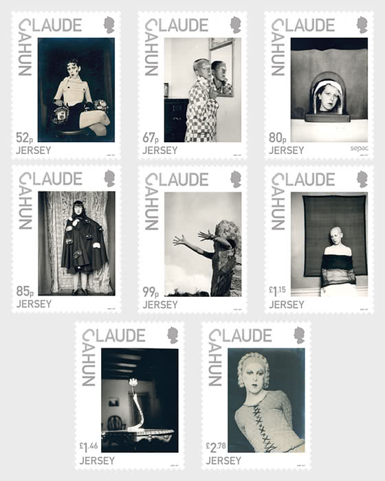 Jersey Artists - Claude Cahun - Set