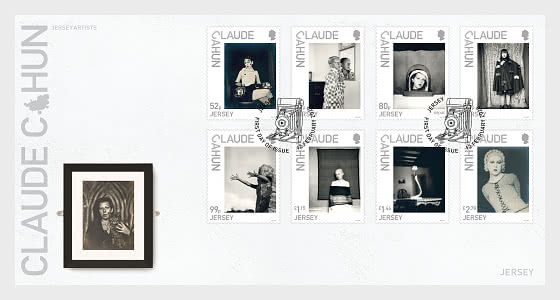 Jersey Artists - Claude Cahun - First Day Cover