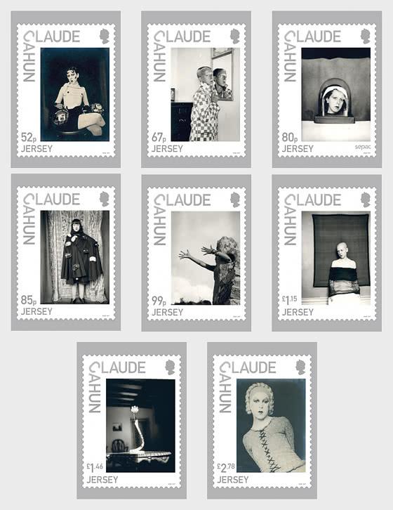 Jersey Artists - Claude Cahun - Postcard