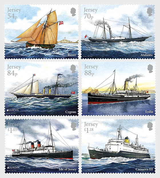 Europa 2020 - Ancient Postal Routes, Mail Ships - Set Mint - Set