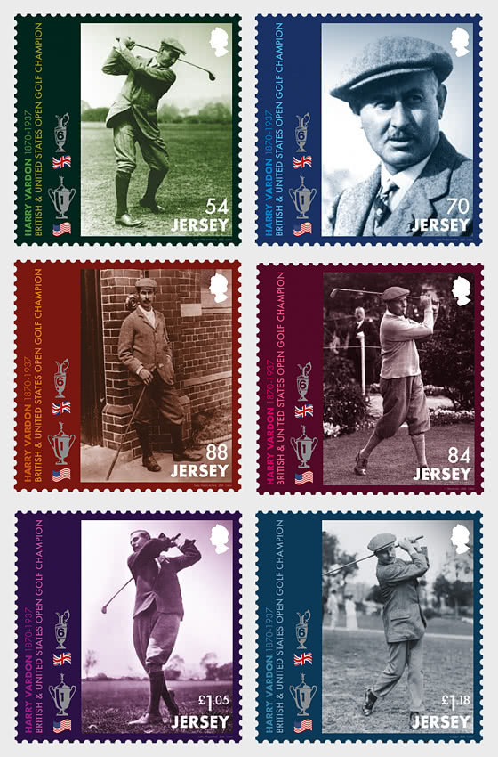 Harry Vardon – 150th Birth Anniversary - Set Mint - Set