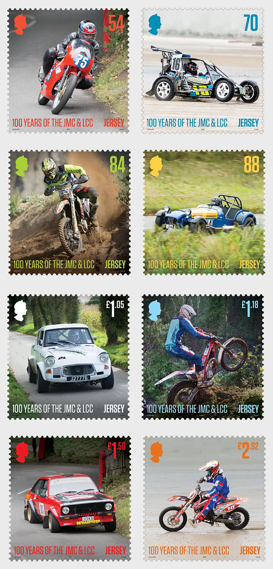 100 Years of the Jersey Motorcycle & Light Car Club - Set Mint - Set