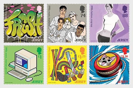 Popular Culture - The 1990s - Set Mint - Set
