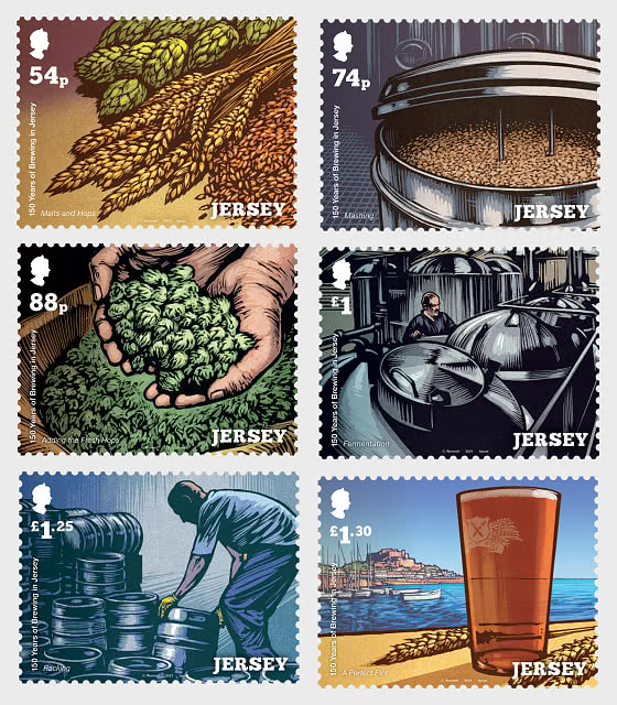 150 Years Of Brewing In Jersey - Set