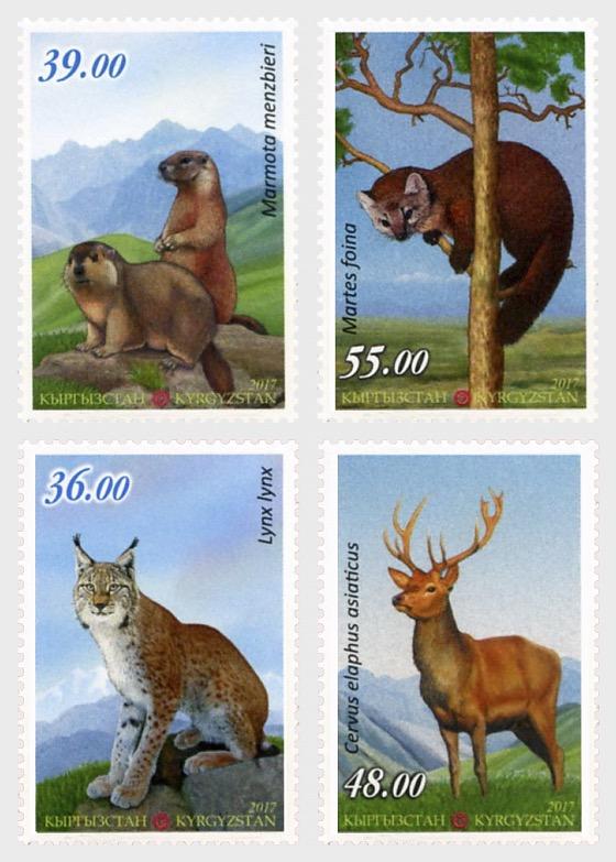 2017 - Fauna of Kyrgyzstan - Set