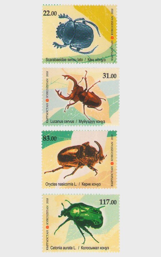 Fauna of Kyrgyzstan, Beetles - Set
