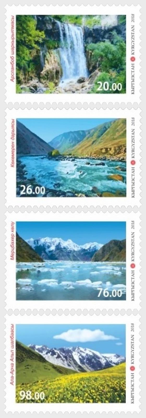 Nature of Kyrgyzstan - Set