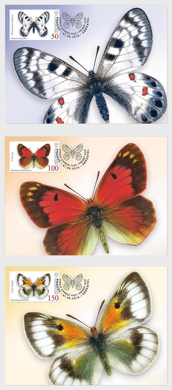 Butterflies of Kyrgyzstan - Maxi Cards