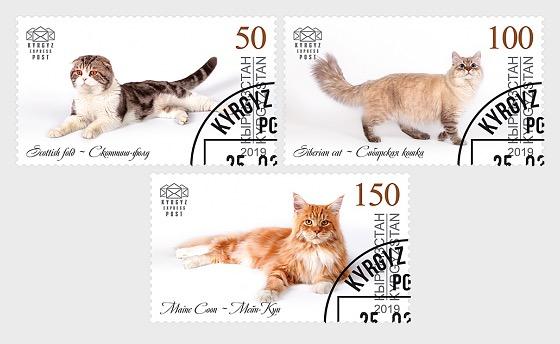 Domestic Cats - Set CTO - Set CTO