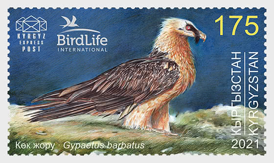 Bird of the Year (III) - The Bearded Vulture - Mint - Set