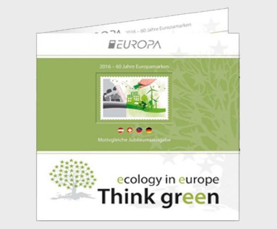 Europaset 2016 - Liechtenstein, Austria, Switzerland, Germany - Special Folder